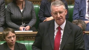 Hilary Benn speaking on Syria