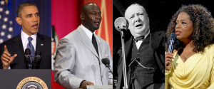 Motivational Speech Help - Barack Obama, Michael Jordan, Winston Churchill, Oprah Winfrey